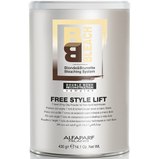 Pudra decoloranta pentru tehnici libere - Free Style Lift Bleaching Powder - Alfaparf - 400g