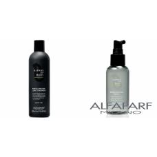 Kit anti-matreata si de control sebum pentru barbati - Blends of Many - Alfaparf Milano - 2 produse