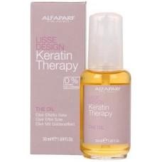 Ulei elixir cu efect de matase pentru varfuri despicate - The Oil - Lisse Design - Keratin Therapy - Alfaparf Milano - 50 ml