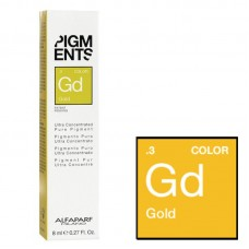 Pigment concentrat auriu - .3 Gold - Ultra Concentrated Pure Pigment - Alfaparf Milano - 8 ml