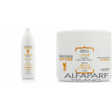 Kit mare intens protector pentru par vopsit - sampon + masca - Precious Nature - Colored Hair - Alfaparf Milano - 2 produse