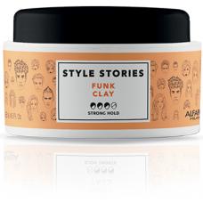 Pasta mata cu fixara puternica pentru toate tipurile de par - Funk Clay - Style Stories - Alfaparf - 100 ml