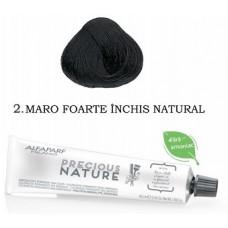 Vopsea permanenta fara amoniac profesionala - 2 - Precious Nature - Alfaparf Milano - 60 ml