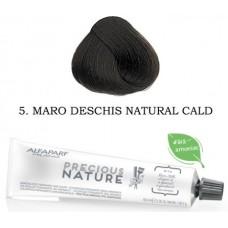 Vopsea permanenta fara amoniac profesionala - 5 - Precious Nature - Alfaparf Milano - 60 ml
