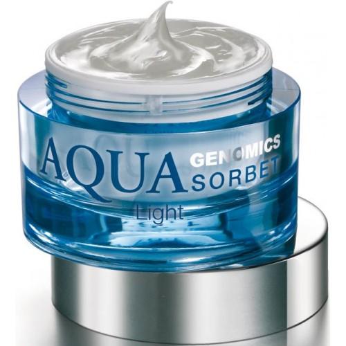Crema hidratanta - Aqua Genomics Sorbet - Light - Bruno Vassari - 50 ml
