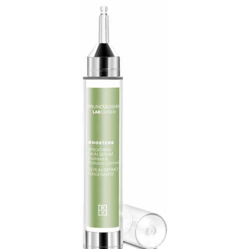 Ser de oxigenare anti-poluare pentru ten - Breathing Skin Serum - Lab Division - Boosters - Bruno Vassari - 15 ml
