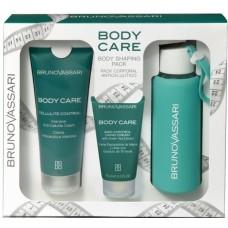 Kit pentru ingrijirea corpului + sticla - Body Shaping Pack - Body Care - Bruno Vassari