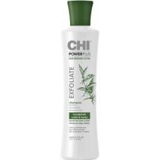 Sampon tratament impotriva caderii parului - Exfoliate Shampoo - Power Plus - CHI - 355 ml