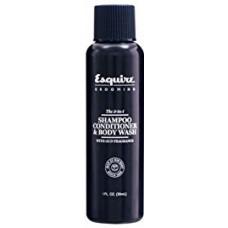 Gel 3 in 1 - Sampon, balsam si gel de dus - Shampoo, Conditioner & Body Wash - Esquire Grooming - 30 ml