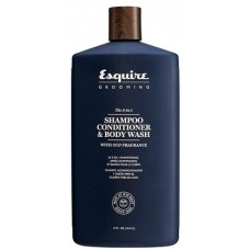 Gel 3 in 1 - Sampon, balsam si gel de dus pentru barbati - Shampoo, Conditioner & Body Wash - Esquire Grooming - 414 ml