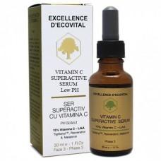 Ser activ cu vitamina C - Vitamin C Superactive Serum - Excellence D'Ecovital - Ecovital - 30 ml
