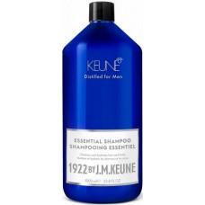 Sampon esential hidratant pentru par, barba si corp - Essential Shampoo - Distilled for Men - Keune - 1000 ml