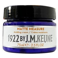 Pasta mata pentru modelarea parului - Matte Measure Molding Cream - Distilled For Men - Keune - 75 ml