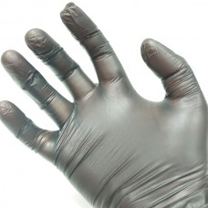 Manusi de unica folosinta din vinil pentru vopsit marime M (2 buc / o pereche) - Black Vinyl Gloves - Keune - size M (2 pcs / 1 pair)