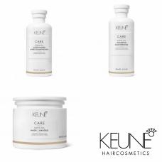 Kit pentru stralucire - Satin Oil - Keune - 3 produse