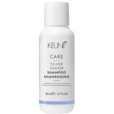Sampon violet pentru neutralizarea tonurilor de galben - Shampoo - Silver Savior - Keune - 80 ml
