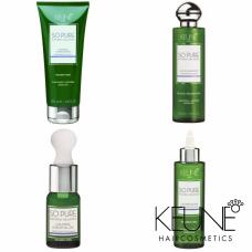 Kit pentru calmarea scalpului iritat + volum și strălucire - So Pure Calming - Keune - 4 produse