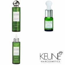 Kit cu efect răcoritor (fără sulfați și parabeni) - So Pure Cooling - Keune - 3 produse