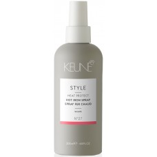 Spray cu protectie termica pentru toate tipurile de par - Hot Iron Spray - Style - Keune - 200 ml