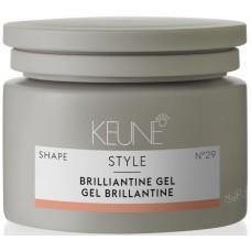 Gel-pomada pentru stralucirea si fixarea parului - Brilliantine Gel - Style - Keune - 75 ml