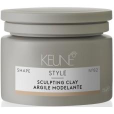 Pasta cu textura compacta si fixare puternica - Sculpting Clay - Style - Keune - 75 ml