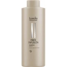Sampon cu infuzie de keratina - Shampoo - Fiber Infusion - Londa Professional - 1000 ml