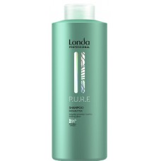 Sampon hidratant din ingrediente naturale - Shampoo - PURE - Londa Professional - 1000 ml