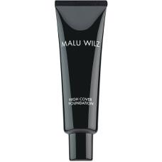 Fond de ten fluid cu acid hialuronic (fara parabeni) - - High Cover Foundation - Malu Wilz - 30 ml - Nr. 10