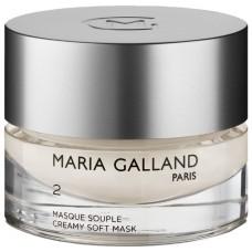 Masca supla demachianta - Creamy Soft Mask 2 - Maria Galland - 50 ml