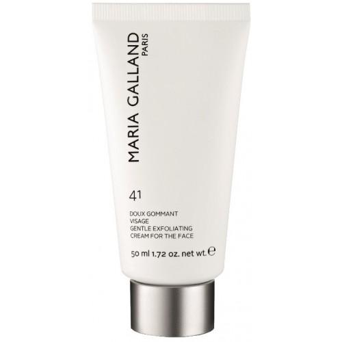 Gomaj delicat pentru curatare rapida a tenului - Gentle Exfoliating Cream 41 - Maria Galland - 50 ml