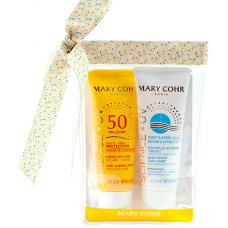 Set travel size creme cu protectie solara - Trousse Solaire - Mary Cohr