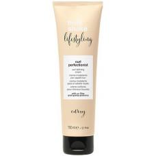 Crema pentru bucle cu efect anti-electrizare - Curl Perfectionist - Lifestyling - Milk Shake - 150 ml