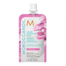 Masca pentru pigmentare - Color Depositing Mask - Hibiscus - Color Depositing - Moroccanoil - 30ml