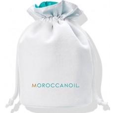 Saculet pentru produse cosmetice (fara produse) - White spring bag 2019 - Moroccanoil