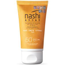 Lotiune protectie solara - Sun Care Cream SPF 50 - Nashi Argan - 75 ml