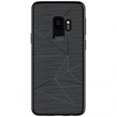 Husa magnetică din silicon mat anti amprentă - Magic Case for Samsung Galaxy S9+, black - Nillkin