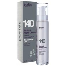 Crema De Noapte Cu Retinol - 140 Retinol Night Cream - Clinical Repair Care - Purles - 50 ml