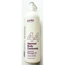 Ulei de masaj - 44 Coconut Massage Oil - Glamour Body Ceremony - Purles - 500 ml