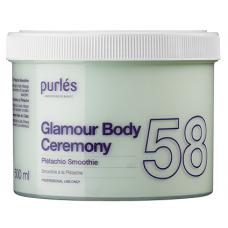 Crema de corp - 58 Pistachio Smoothie - Glamour Body Ceremony - Purles - 500 ml