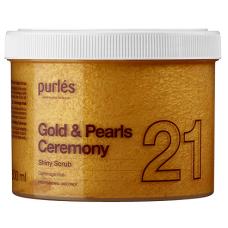 Peeling Pentru Corp - 21 Shiny Scrub - Gold & Pearls Ceremony - Purles - 500 ml