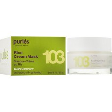 Masca Cremoasa - 103 Rice Cream Mask - Sushi Ceremony - Purles - 50 ml