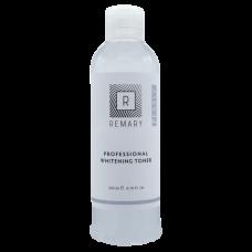 Loțiune tonică revigorantă și calmantă profesională pentru albire și depigmentare - Professional Whitening Toner – Pearly – Remary – 200 ml