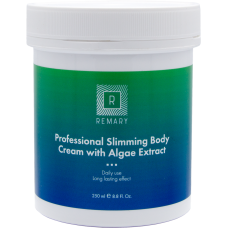 Crema profesionala pentru slabit cu alge - Professional Slimming Body Cream with Algae Extract - Remary - 250 ml