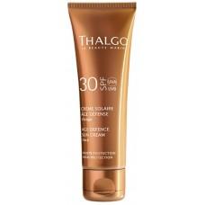 Crema pentru fata cu protectie solara - Age Defence Sun Cream - SPF 30 - Thalgo - 50 ml