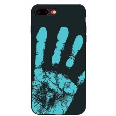 Carcasa termosensibila pentru iPhone 6/6S Plus, Albastru inchis - Thermosensitive case for iPhone 6/6S Plus, Dark-Blue