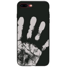 Carcasa termosensibila pentru iPhone 7/8, Negru - Thermosensitive case for iPhone 7/8, Black
