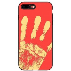 Carcasa termosensibila pentru iPhone X, Rosu - Thermosensitive case for iPhone X, Red