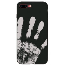 Carcasa termosensibila pentru Samsung Galaxy S8, Negru - Thermosensitive case for Samsung Galaxy S8, Black