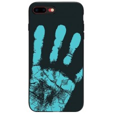 Carcasa termosensibila pentru Samsung Galaxy S8, Albastru inchis - Thermosensitive case for Samsung Galaxy S8, Dark-Blue