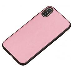 Carcasa subtire din piele lucrata manual pentru Samsung Galaxy S7, Roz - Thin-leather handmade case for Samsung Galaxy S7, Pink
